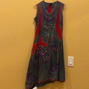 Rising International size M/ Bohemian Dress